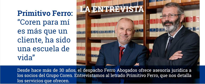 Entrevista a Primitivo Ferro para la Revista del Grupo COREN