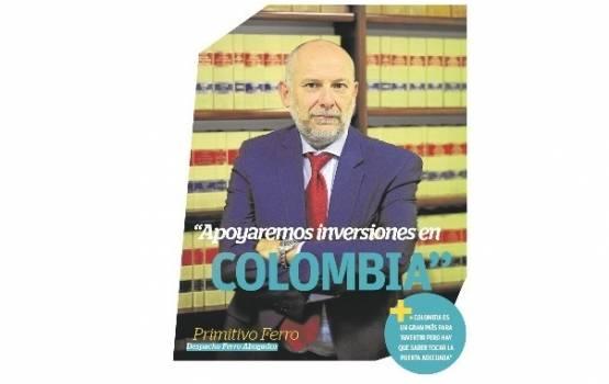 Apoyamos las inversiones en Colombia